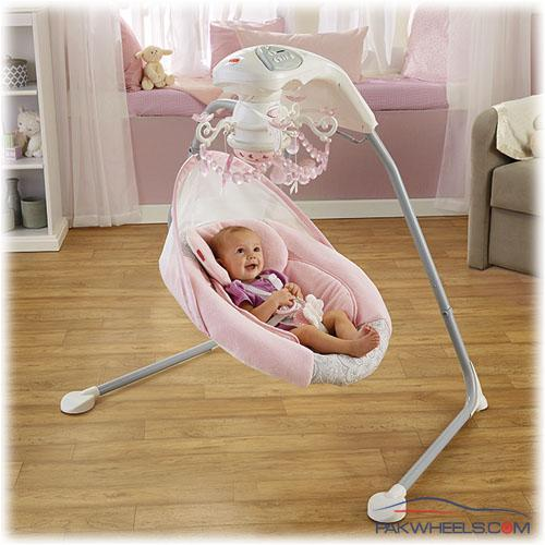 Imported Automatic Baby Swing Fisher Price Rose Chandelier