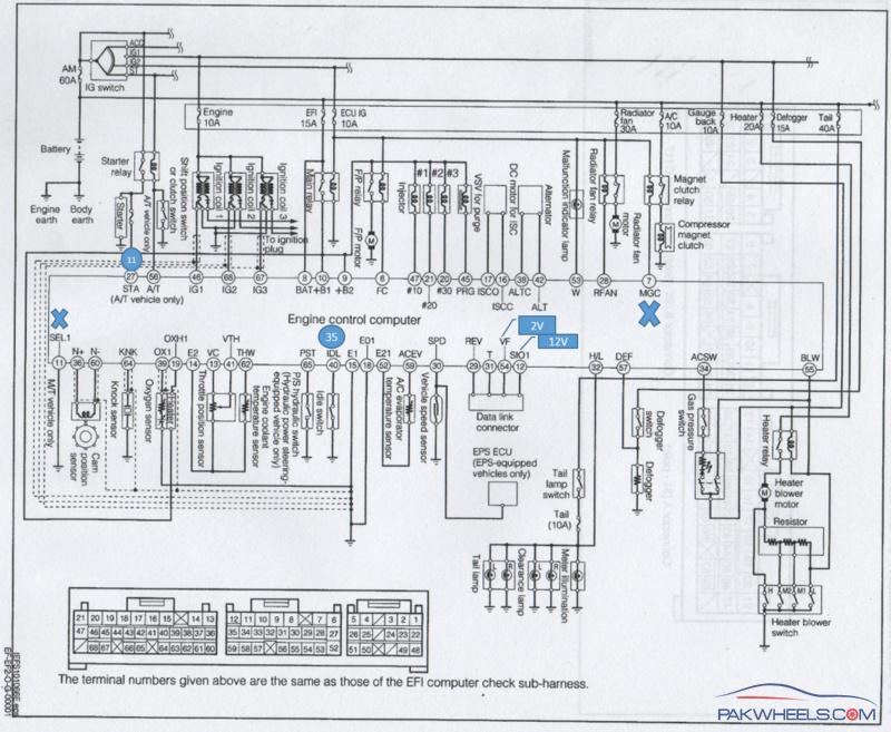 mira le l250v 2006 wiring diagram cuore pakwheels forums electrical wiring diagrams for dummies never mind i fixed the errors 54,51,44,13 etc etc now i am only left with the ac connection with the ecu so if some can help ???