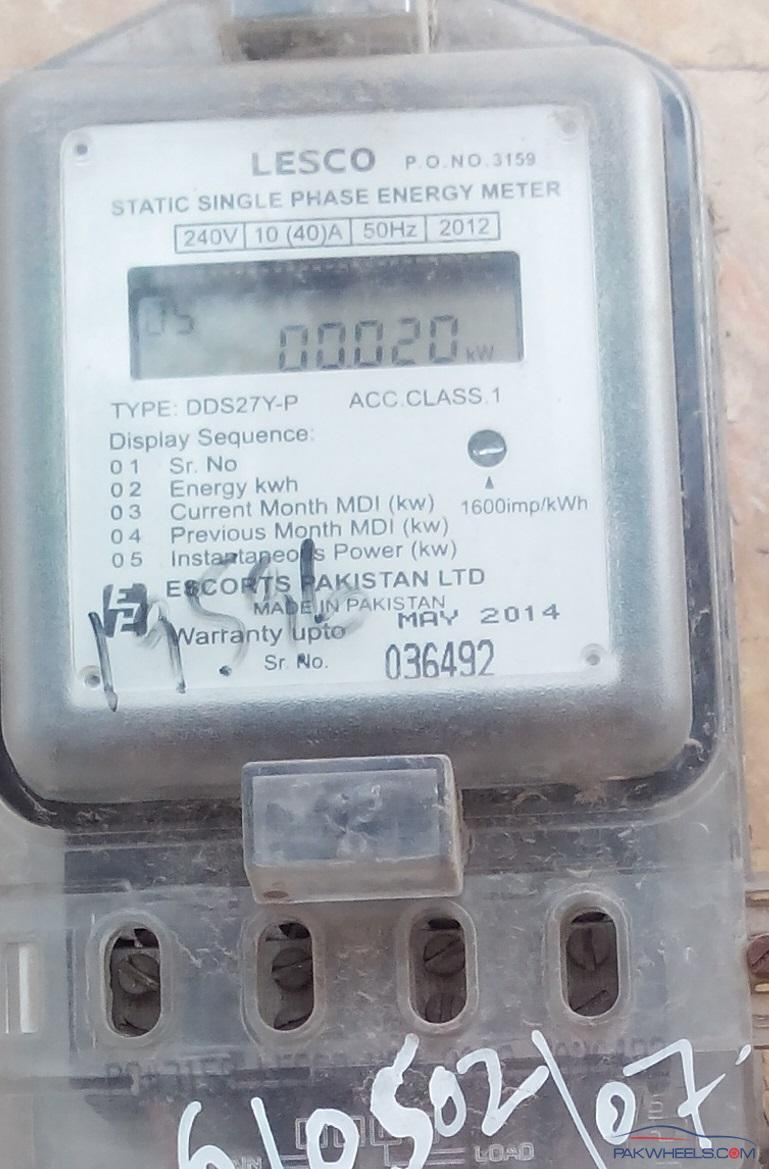 Digital Electric Meter : How to read a digital electricity meter general lounge