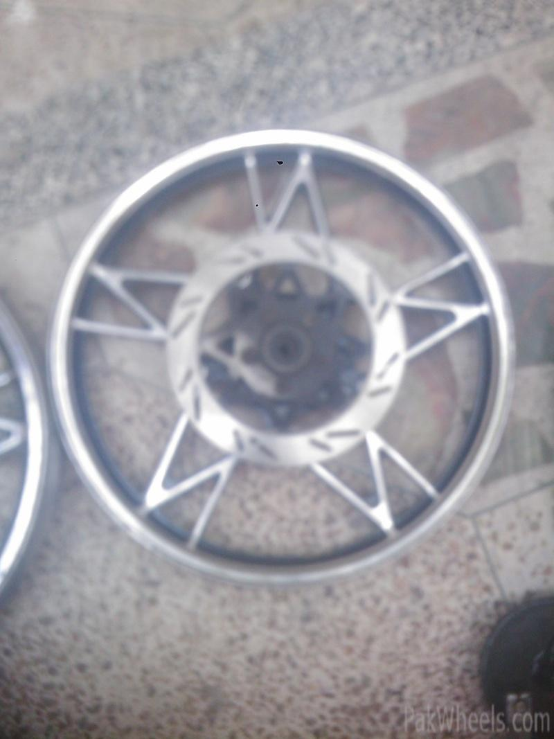 Interested In Disc Brake Setups And Alloy Wheels For Cg125 Gs150 Etc General Motorcycle Discussion Pakwheels Forums