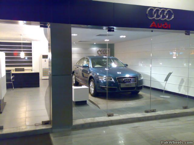 Audi Showroom In Karachi General Car Discussion