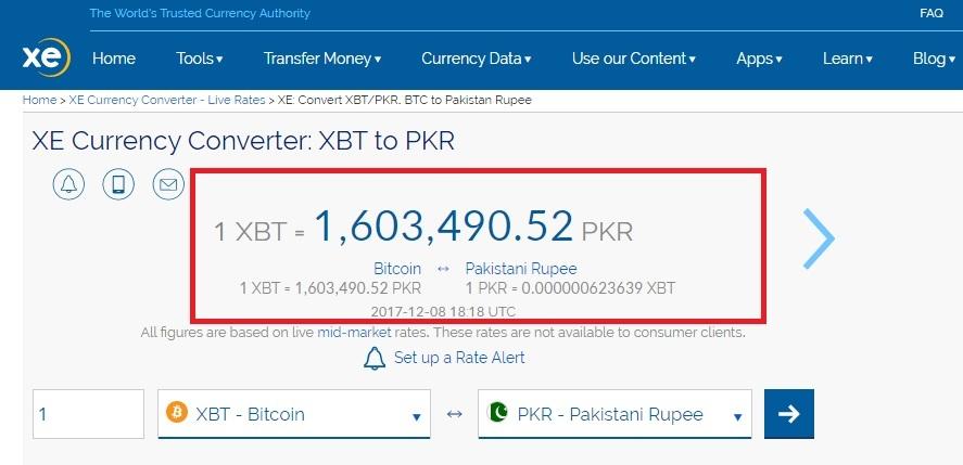 bitcoin available in pakistan