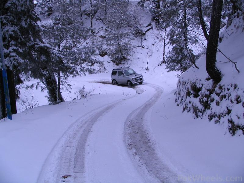 essay on snowfall in murree