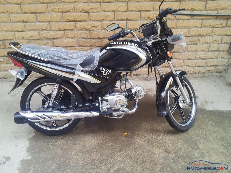 Asia Hero new 70 delux - Other Bike Makers - PakWheels Forums