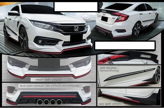 Honda Civic 2016 Body Kit Car Parts Pakwheels Forums