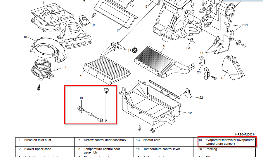 Is there any thermostat installed for Suzuki swift AC? - Swift