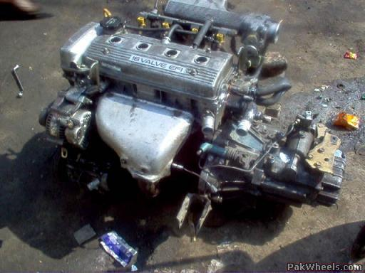 engine swap 2e l to 5a fe finally done mechanical electrical rh pakwheels com Toyota 4AGE Engine 5afe engine manual pdf