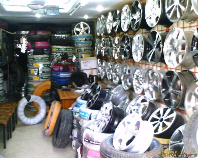 A good tyre dealer in Blue Area - Mechanical/Electrical