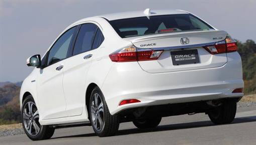 That's an imported Honda Grace, same shape as City launched abroad but Grace is a Japanese 1.5 Hybrid