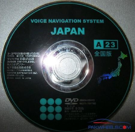 Insert correct map disk solution for Toyota NDCN-W55 (download link on