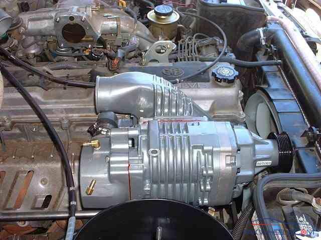 Land Cruiser 80/100 series 1FZ-FE TRD supercharger - 4X4s