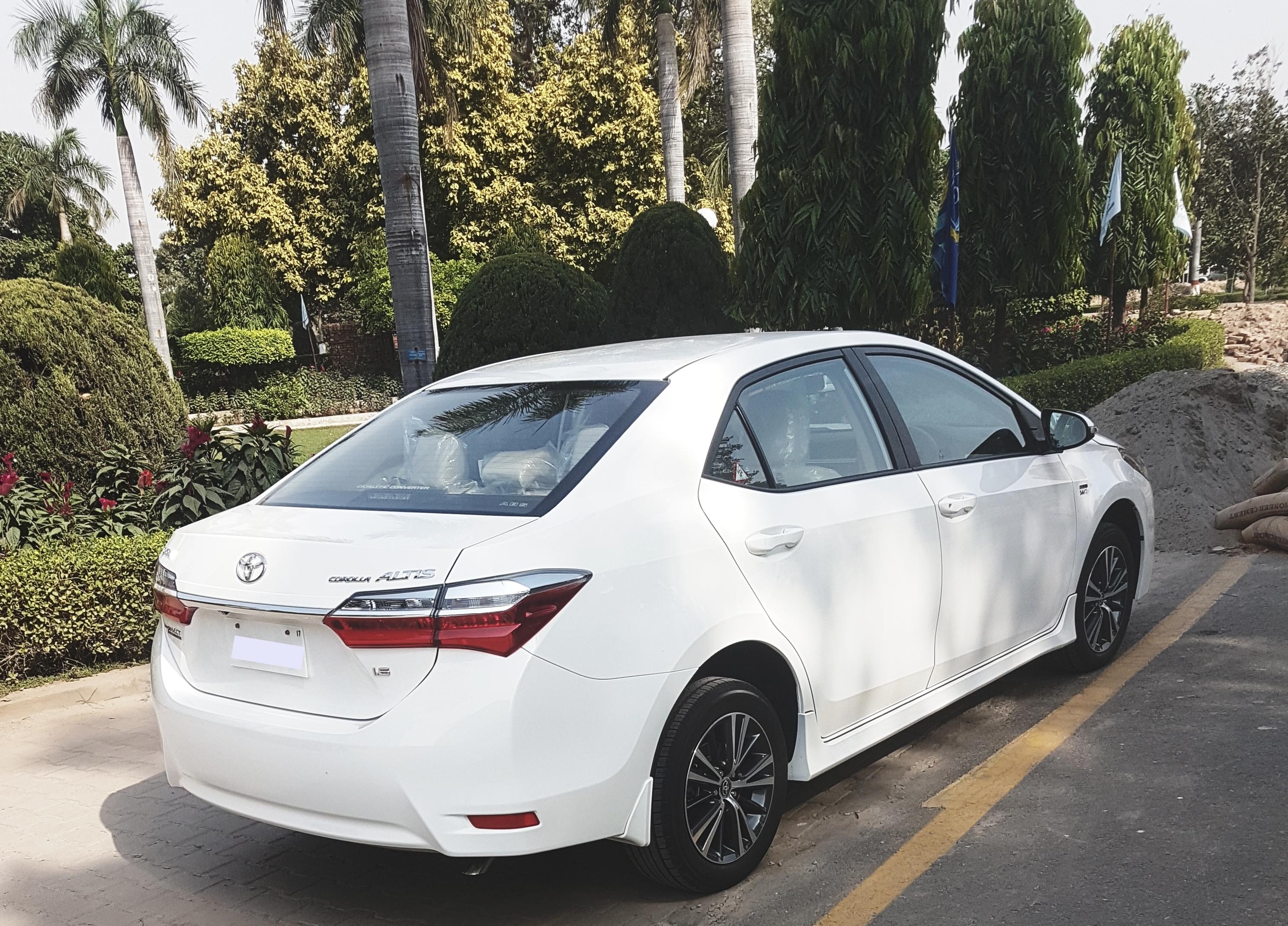 My Toyota Corolla Altis 1.6 Facelift