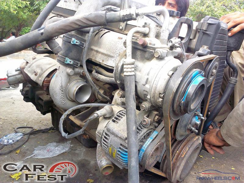 For Sale: 1HD-T Complete Engine With Transmission - 4X4s