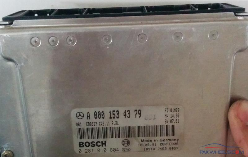 Mercedes W210 ECU with different part number - Other Car