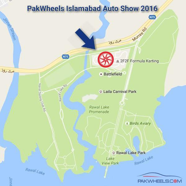 Lake View Islamabad: Pakwheels Auto Show Islamabad On 23rd October 2016