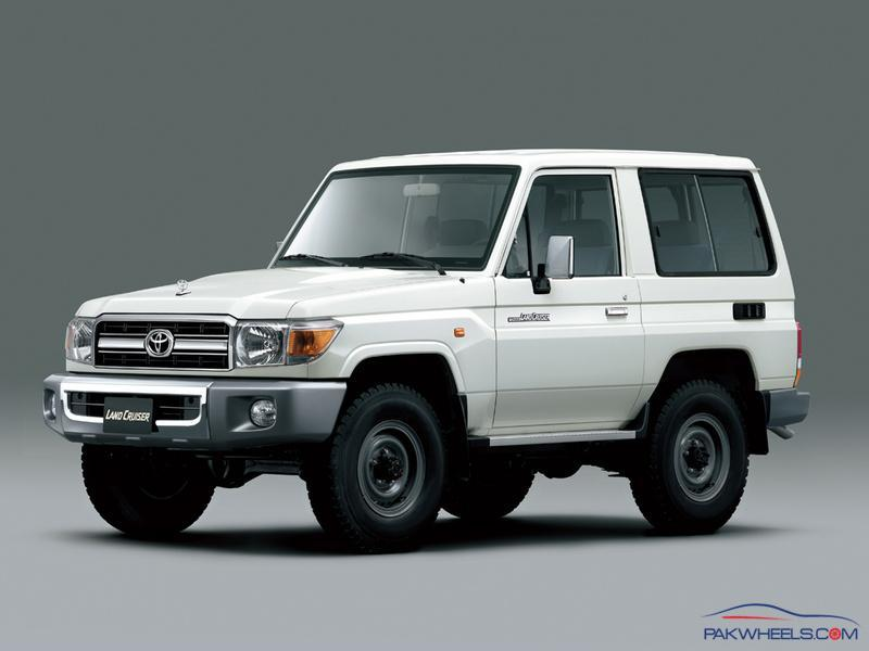 Toyota land cruiser 70 series price