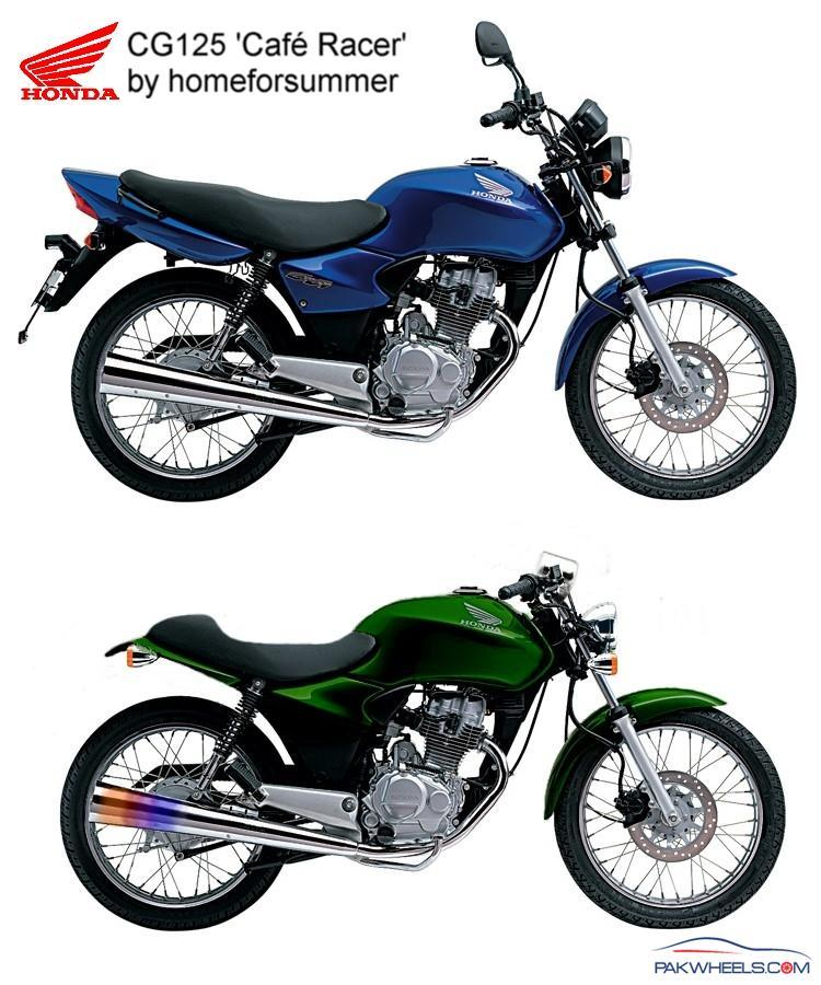 Honda Cg125 Modifications Honda Bikes Pakwheels Forums