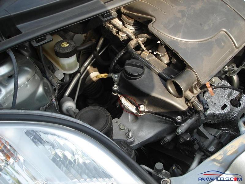 2007 vitz with no engine number - Vehicle Documentation