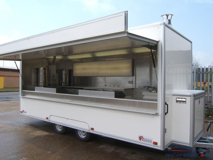 Wanted Food Van Trailer Meals On Wheels Trolly Non