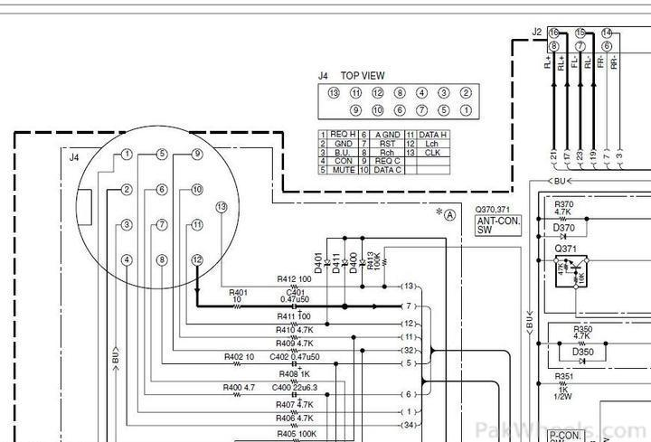 8 pin din connector wiring diagram cd changer 3 pin din