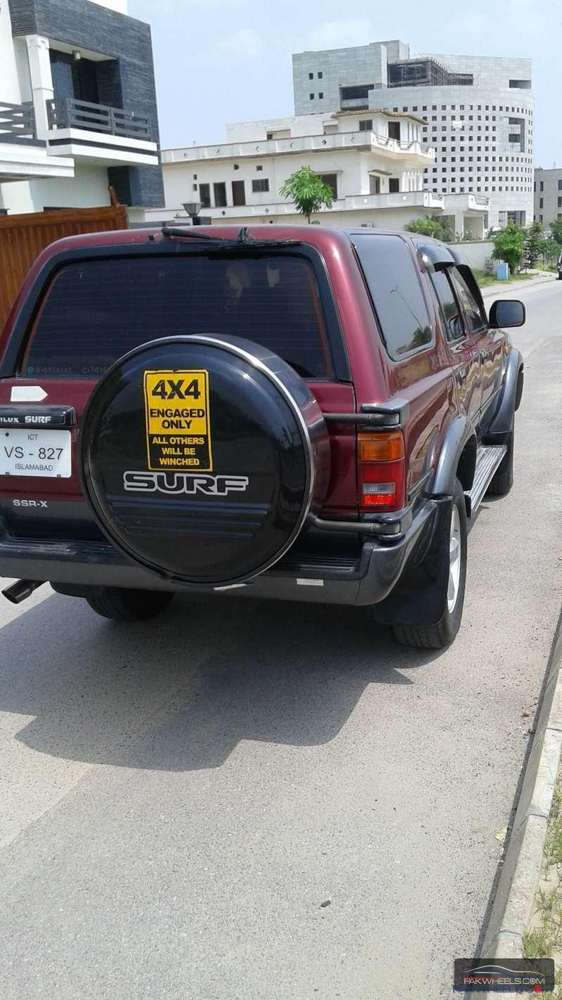 Saudi Embassy Auctioned Surf 1993 SSR-X Auto Sunroof Diesel ful time