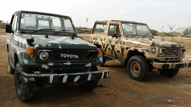 Army Auctioned Land Cruiser 1987-91 are Selling On Super Highway