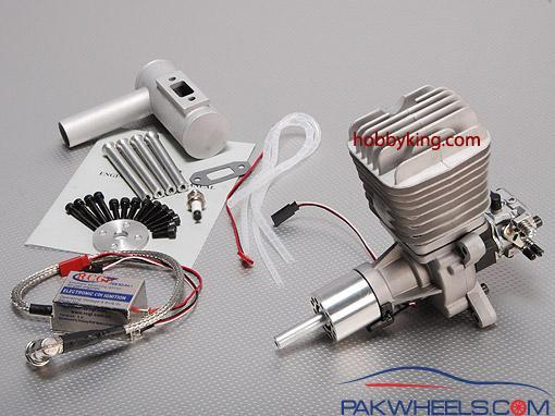 RCG 50cc Gas Engine For Remote Control airplanes - Car Parts
