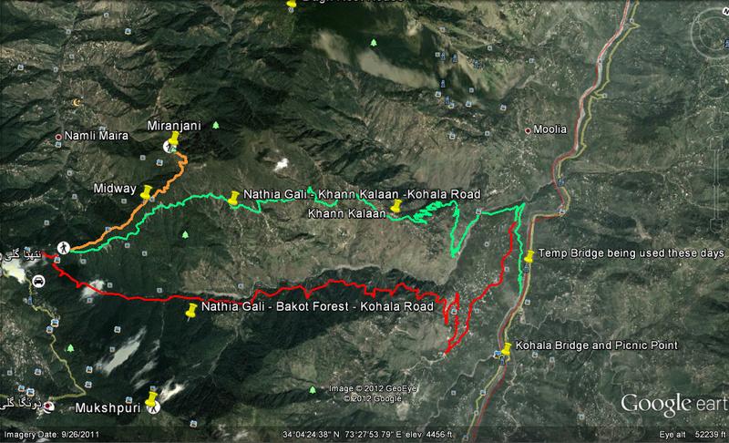 Treks Route Maps - Road Trips / Vacations / Hiking / Trekking - PakWheels Forums