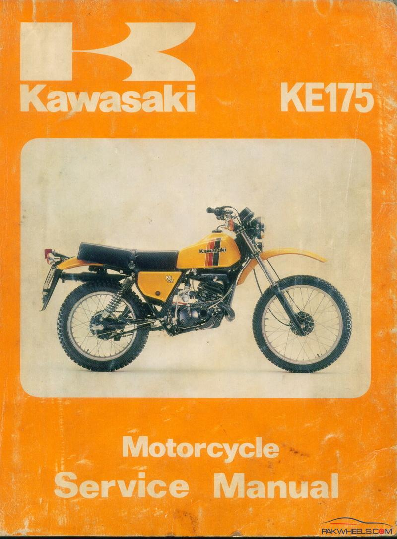 Service manual of kawasaki ke-175