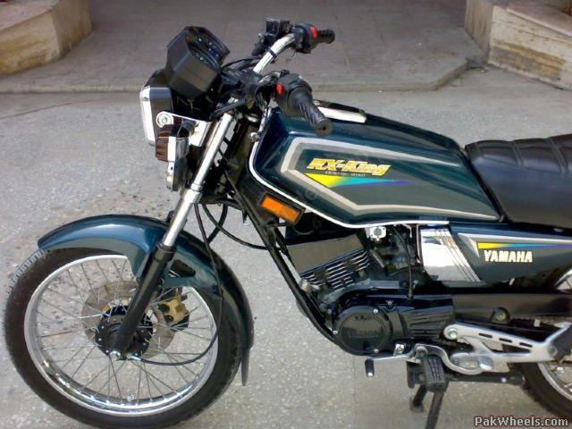 Yamaha rxz 135 6 speed for sale yamaha bikes pakwheels for Yamaha rx115 motorcycle for sale