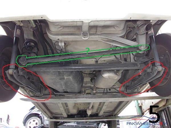 Mehran Rear Suspension System Alteration Help Required