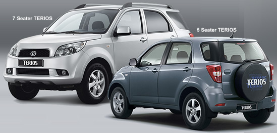 Toyota Launching New Prado Nd Daihatsu Terios