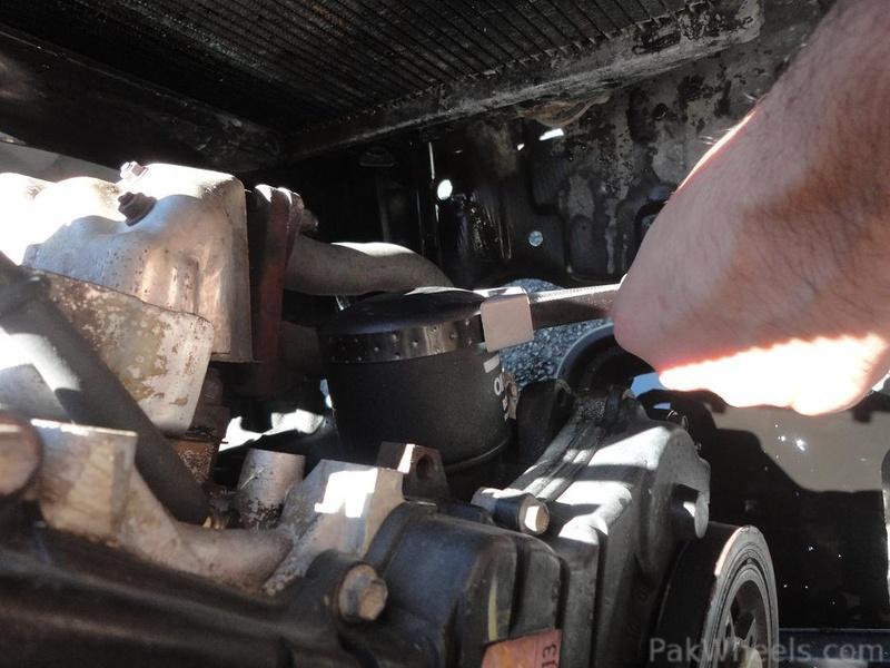 DIY- Engine oil flush & change, radiator flush & new ...