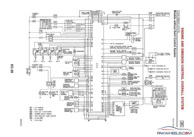 Nissan Qg15 Wiring Diagram : Engine swap in nissan sunny b datsun