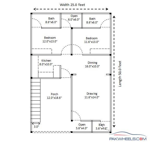 Building a low cost 25x50 house in Islamabad Suggestions required