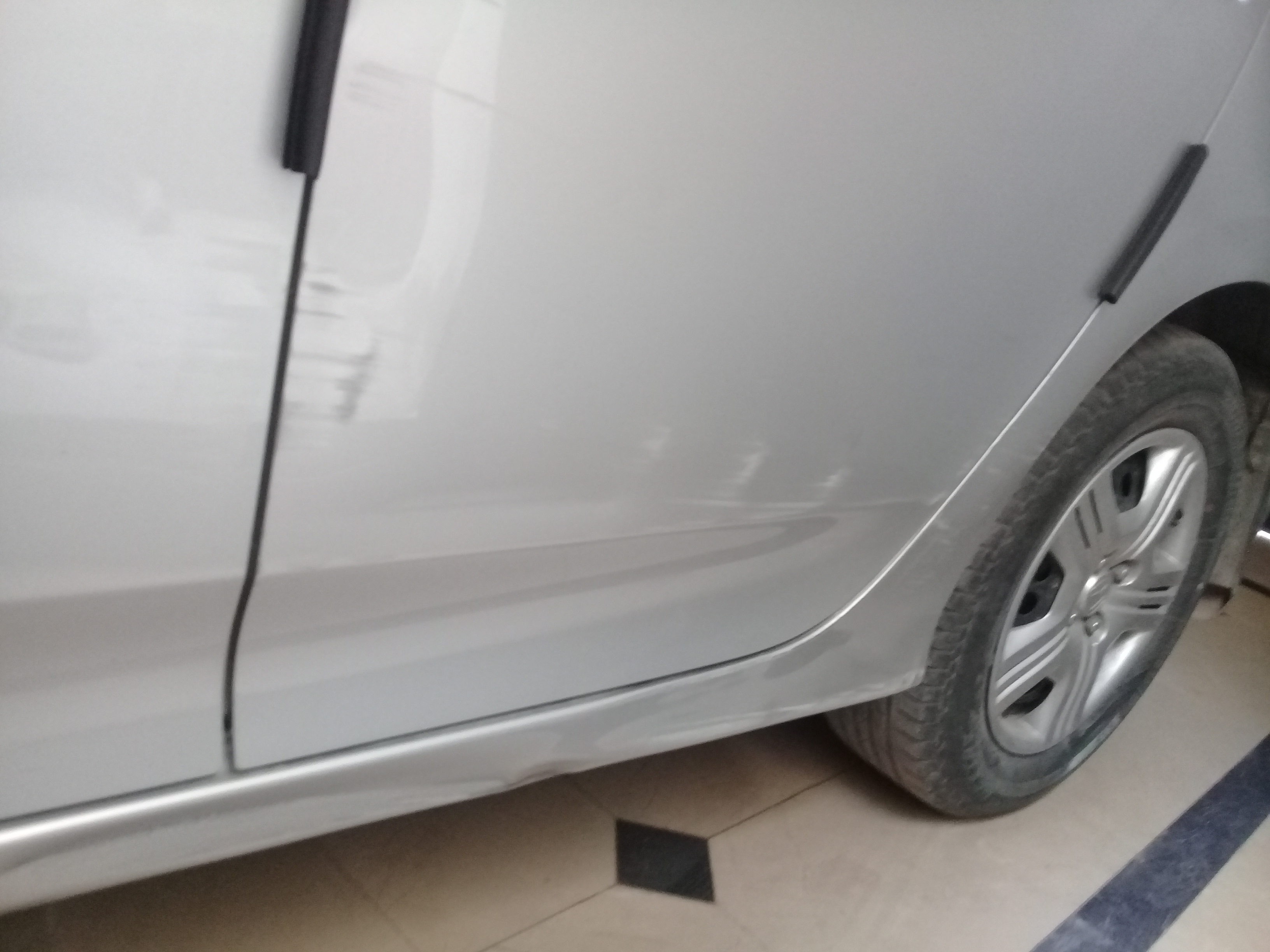 How To Fix Dent On Side Skirt Body Work Appearance