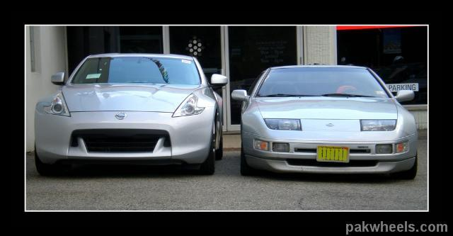 Nissan 350z vs nissan 370z - Vintage and Classic Cars ...