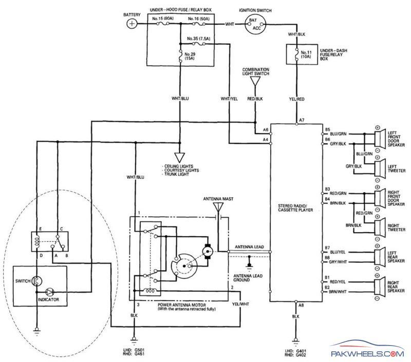 power antenna wiring diagram wiring diagram and schematic ford explorer power antenna circuit wiring diagrams