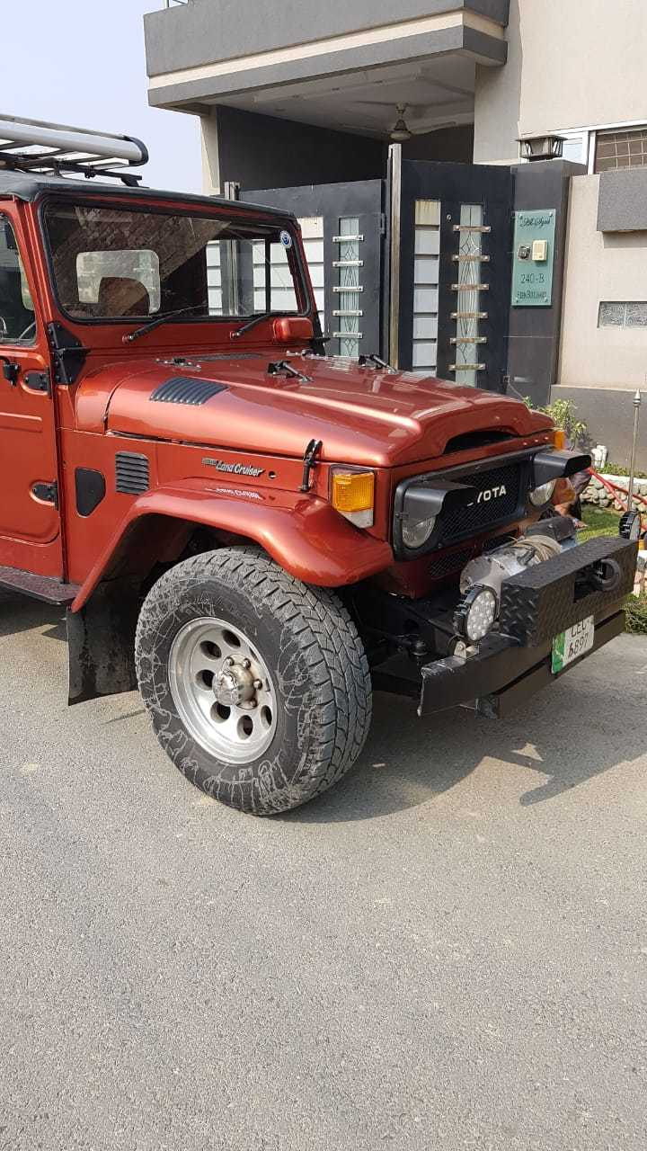 FJ40 Restoration J40 Help Lahore Toyota Land Cruiser 1984 - 4X4 and