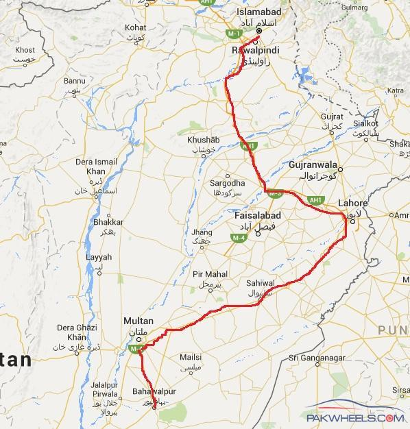 Need Advice Best Route From Islamabad to Bahawalpur Ask Travel
