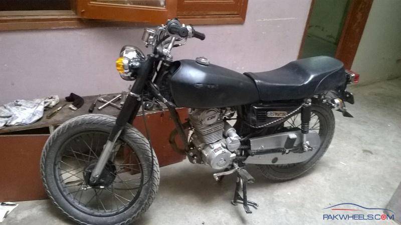 Best Bike App >> Honda cg-125 1986 restoration with modifications - Honda ...
