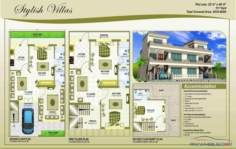 5 Marla House Plan General Lounge Pakwheels Forums