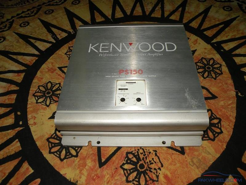 F S Kenwood Ps 150 2 Channel Amp - Car Parts