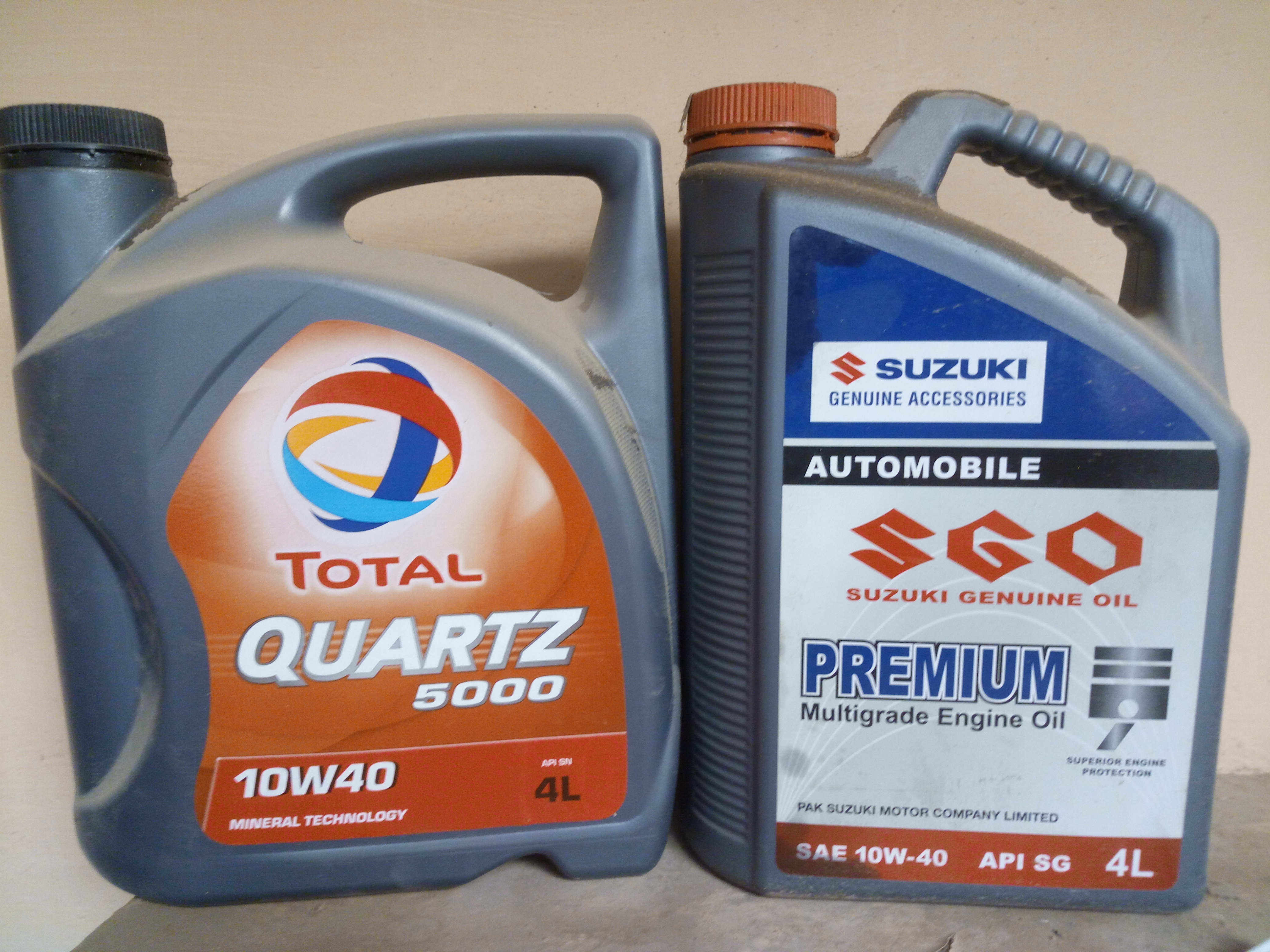Zic 10w 40 vs kixx 10w 40 suzuki pakwheels forums for Motor oil api rating