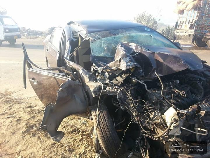 Very Bad Accident Near Hyderabad Sindh Spotting Hobbies Other Stuff Pakwheels Forums