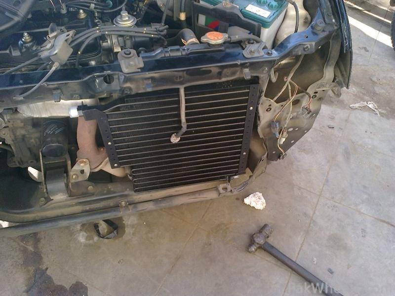 Installation of A/c in Cuore - Cuore - PakWheels Forums